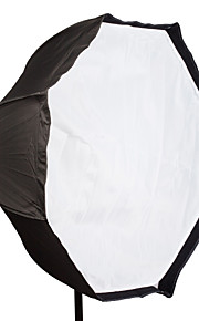 "panno Flash Professional 95 centimetri 37 ""riflettore ombrello softbox Brolly ottagono per speedlite"