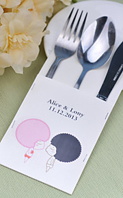 Serving Sets Personalized Cutlery pouch/Flatware pouch/  Supplies Bags  Set of 14---- European Pattern