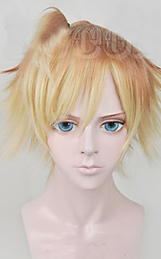 Angelaicos Men DIABOLIK LOVERS Mukami Kou Grils Short Blonde Gradient Halloween Party Costume Cosplay Wigs