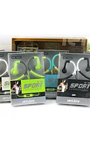 sport iphone in-ear koptelefoon met microfoon voor de iPhone 6 iphone 6 plus (verschillende kleuren)