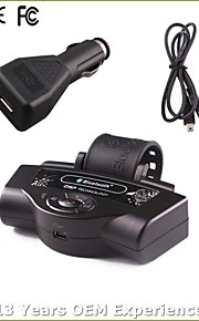 høj kvalitet bluetooth håndfrit bilsæt, bluetooth2.0 / bil oplader / med 300mAh Li-ion batteri