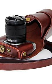 dengpin pu leer olie huid afneembare camera cover case tas voor Fujifilm X-a2 x-a1 x-m1 (verschillende kleuren)