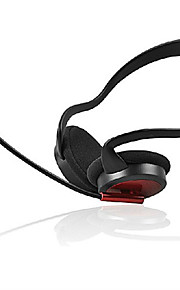 Hovedtelefoner - Høretelefoner (Pandebånd) - Med Mikrofon/Lydstyrke Kontrol/Gaming/Sport - Medie Player/Tablet/Computer