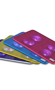"ultra-portable&lichtgewicht 15,6 ""laptop cooling pad met led voor vlaptop notebook tablet"