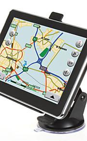 nye 7 tommer bil bil lastbil gps navigation 4gb kort sad navi krympe 6,0 fm mp3 mp4 (inden kortet over Amerika)
