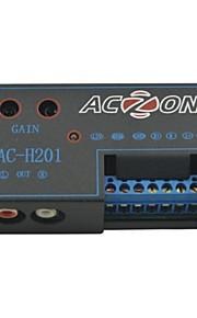 ac-H201 bil auto dobbelt outport bil høj til lav højttaler til rca audio-forstærker konverter