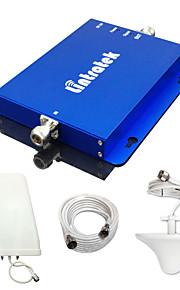 lintratek 2g 3g mobiele telefoon booster gsm 850MHz 1900MHz dual-band signaal repeater cdma stuks umts versterker volledige kits