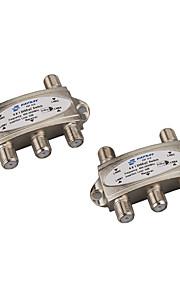 originale faysat DiSEqC switch 4x1 DiSEqC switch satellitantenne flad LNB skifte til tv-modtager med høj kvalitet