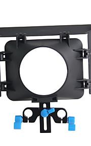 m1 matte box 15 mm stang support jernbane rig 43mm video 77 mm