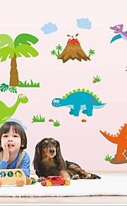 Wall Stickers Wall Decals Style Lovely Dinosaur PVC Wall Stickers