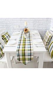 """Европейский стиль высокое качество Англия сетки хлопок печати бегун стол (12 """"x63"""")"""