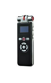 8gb t80 digitale voice recorder dictafoon met mp3-speler en leidde sceen