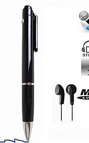 n16 8gb modieuze pen dictafoon mini pen digitale voice recorder met mp3-speler