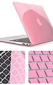 högsta kvalitet kristall hela kroppen fallet med tangentbord lock för macbook air 13,3 tum (blandade färger)