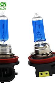 xencn h8 12v 35w 5300K EMARK xeno luce blu diamante guardano lampada alogena quarzo nebbia