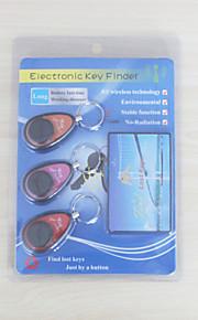elektronisk nøgle Finder fjernbetjening trådløse anti tab alarm søgende locator 3 modtagere