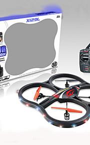 x125 4CH 4-akselinen gyro 2.4G helikopteri LCD radio-ohjattavat drone sähköinen rc lentokone