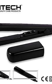 mini svart keramisk hår Rettetang profesjonell rette strykejern flatt jern håret styler verktøy hårpleie
