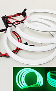 Green Cotton Light LED Angel Eyes  For B.MW E36