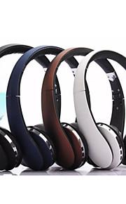 headset draadloos folding stereo hoofdtelefoon met ruisonderdrukking microfoon& oplaadbare Li-ion batterij