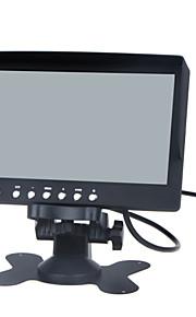 7 inch LCD kleurenmonitor / twee weg video-ingang, een manier om audio-ingang