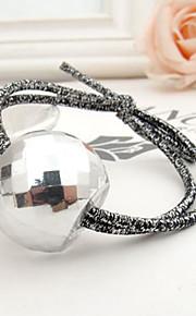 Den nye koreanske stil mote akryl glitrende krystall bow hår bånd