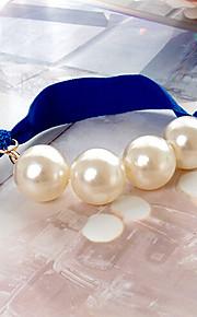europeisk stil vill mote perle beaded hår bånd