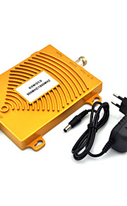 gsm 900MHz dcs 1800MHz dual-band mobiele telefoon signaal booster, mini 2g signaalversterker + stroomadapter