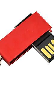 8GB mini metal roterende USB-flashdrev
