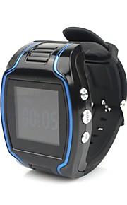 """TK109 sportiva LCD da 1,5 """"di sorveglianza di sicurezza sos GPS GSM GPRS polso cellulare di sorveglianza di sicurezza orologio"""