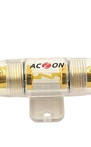 F004 bil forstærker inline 60a forgyldt sikringsholder AGU (1stk)