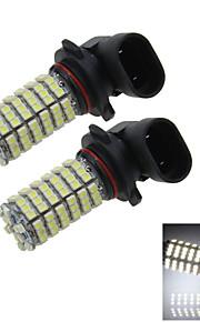2X 120 1210 LED 9006 Bulb White Fog Light Parking Backup Lamp DC 12V HB4 P22d H306