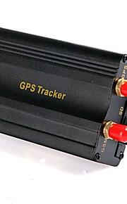 professionele voertuig auto gps tracker 103b met afstandsbediening gsm alarm sd card slot anti-diefstal / auto alarm systeem