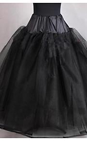Déshabillés ( Filet de tulle , Noir ) - Robe de soirée longue - 4 - 95cm