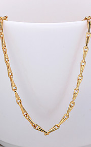Fashion Snake Shape Rose Gold Plated Copper Alloy Chain Necklace(Gold,Rose Gold,White Gold)(1Pc)