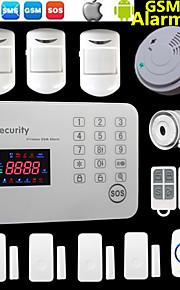 Système d'alarme - Clavier sans fil/SMS/Mobile - GSM