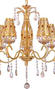 Ljuskronor/Hängande lampor - Living Room/Bedroom/Dining Room - Traditionell/Klassisk - Kristall