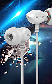 BYZ K17 Mobile Phone Headset In Line With Ceramic Wheat With Computer Music Headset HIFI For IPhone6,IPhone 6 Plus