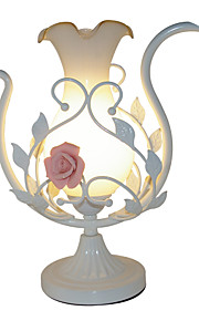 Modern Eye Garden Table Lamp And The European Bedroom Bed of The Bed of Roses