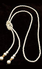 Collar Boda/Pedida/Fiesta Perla Artificial Aleación De mujeres