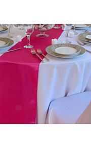 оптовая коралловый искусственный шелк таблица бегуна украшение свадьбы бегун