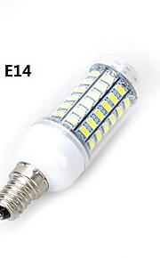marsing® m18 e14 / e27 12w 1000lm 69 x SMD 5730 a mené la lampe de l'ampoule de lumière blanche chaude / froide (220V)