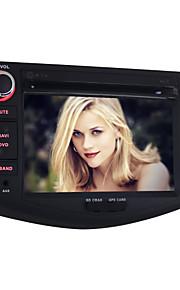 """7"""" - Bil DVD-afspiller - 2 Din - 1024 x 600"""