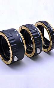 golden Metal Auto Focus AF Macro Extension Tube/Ring for Kenko CANON EOS EF-S Lens