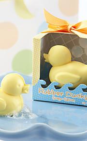 regali di nozze sapone novità Duckie gomma bagno di bolla di sapone baby shower partito