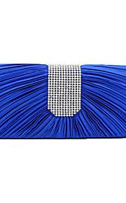 Women Silk Wedding Evening Bag Pink / Blue / Yellow / Red / Silver / Black
