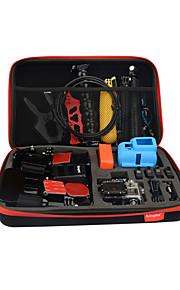 Kingma iso koko kokoelma laatikko gopro sankari 4/3 + / 3 / 2/1, koko: 32.5 * 21.7 * 6.5cm, materiaali: EVA