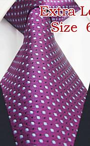 Men's Casual Dots Mauve Ties