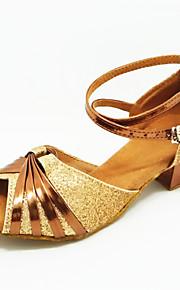 Детская обувь - Атлас - Номера Настраиваемый ( Золотой ) - Латино