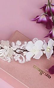 Women's Lace/Pearl Headpiece - Wedding/Special Occasion Tiaras 1 Piece
